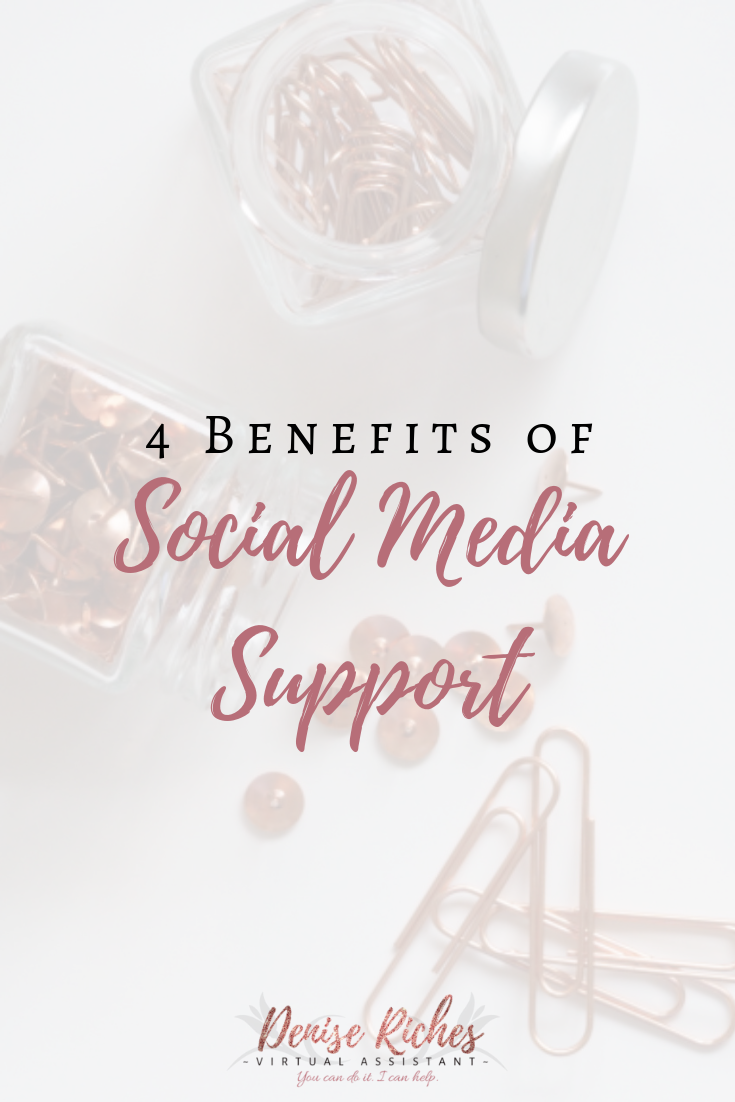 4 Benefits of Social Media Support