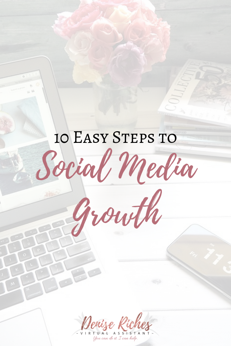 10 Easy Steps to Social Media Growth
