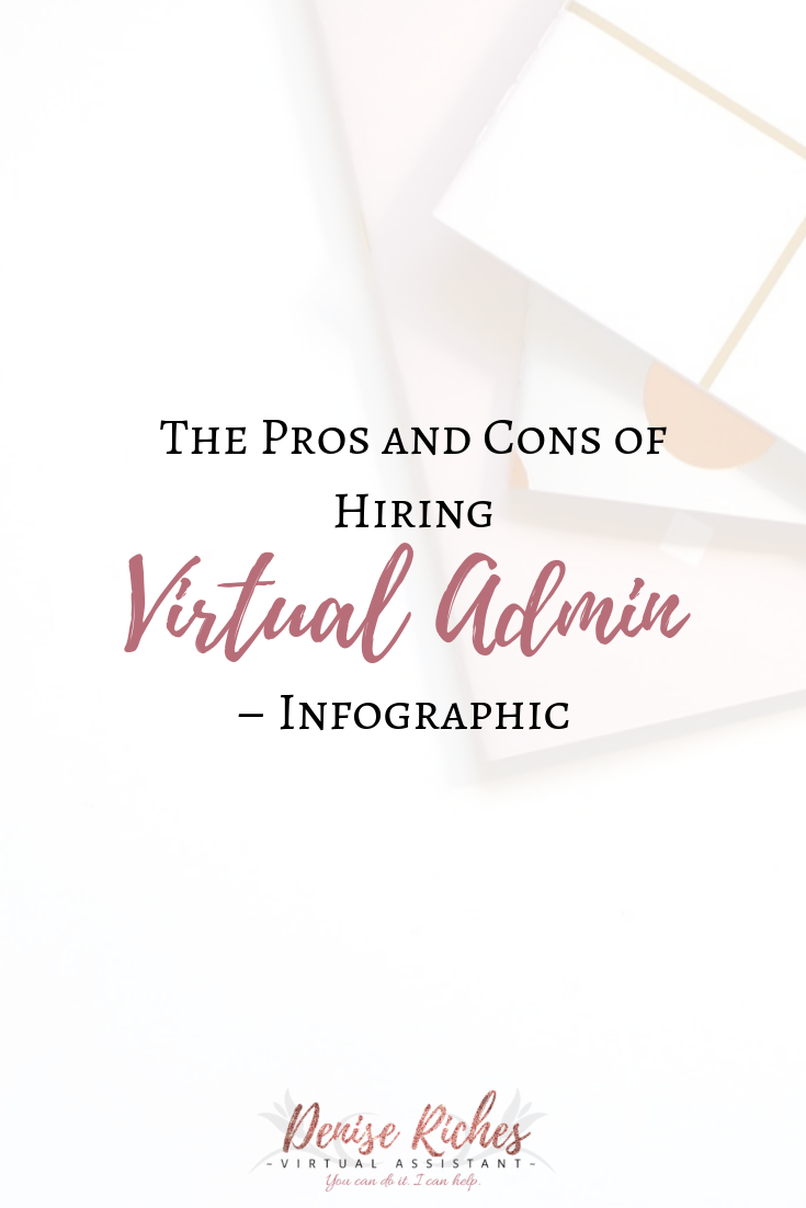 The Pros and Cons of Hiring Virtual Admin – Infographic