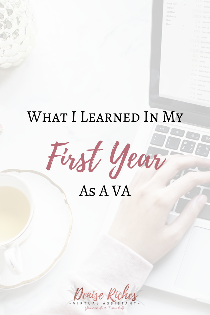 What I Learned in My First Year as a VA
