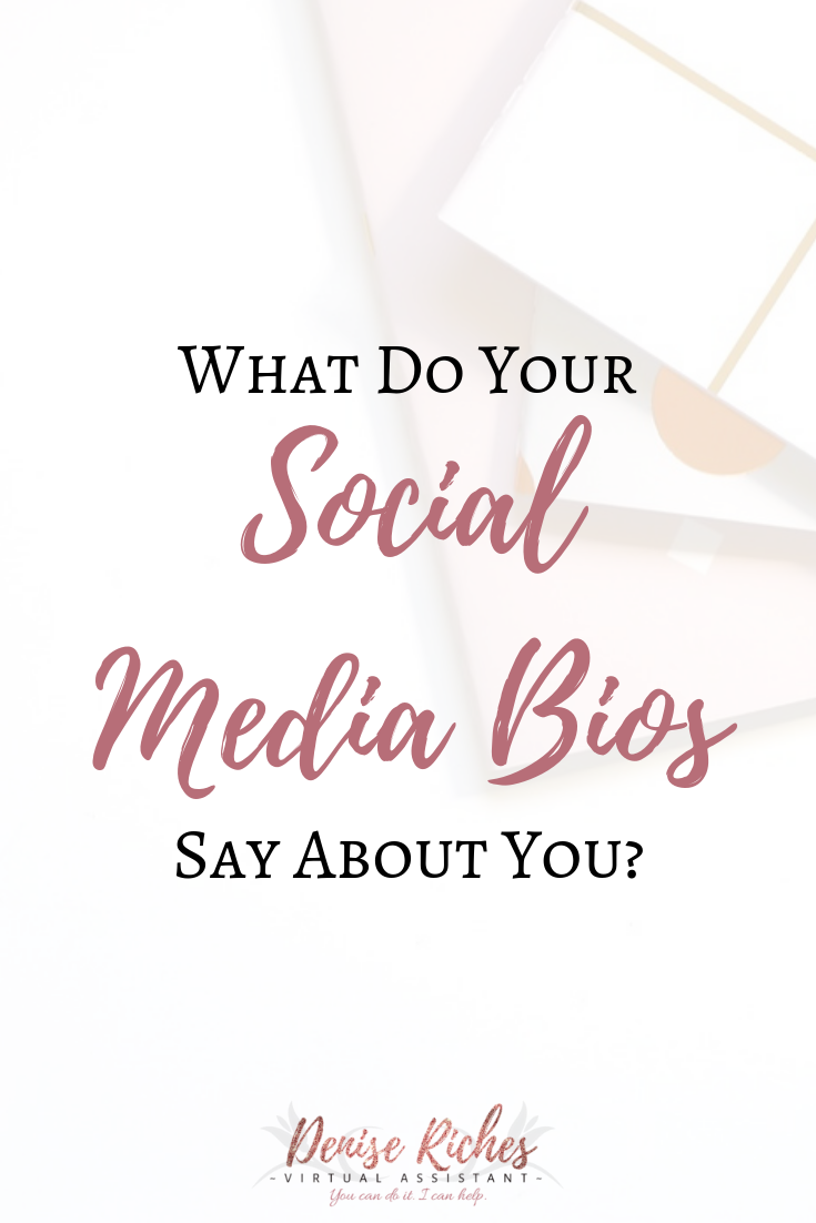 What Do Your Social Media Bios Say About You?