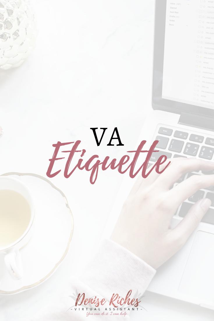 VA Etiquette
