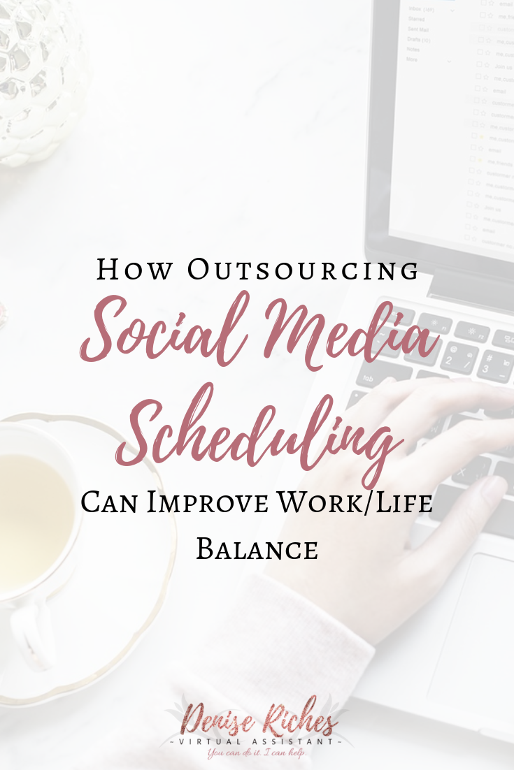 How Outsourcing Social Media Scheduling Can Improve Work/Life Balance