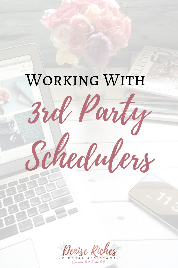 Working With 3rd Party Schedulers