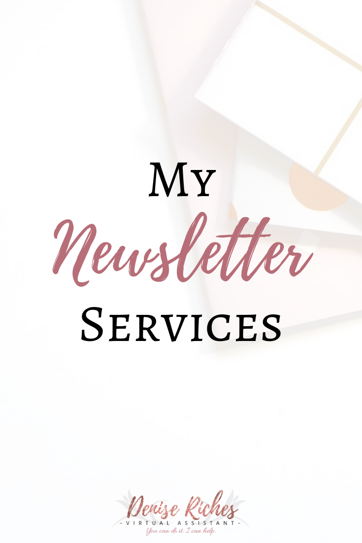 My Newsletter Services