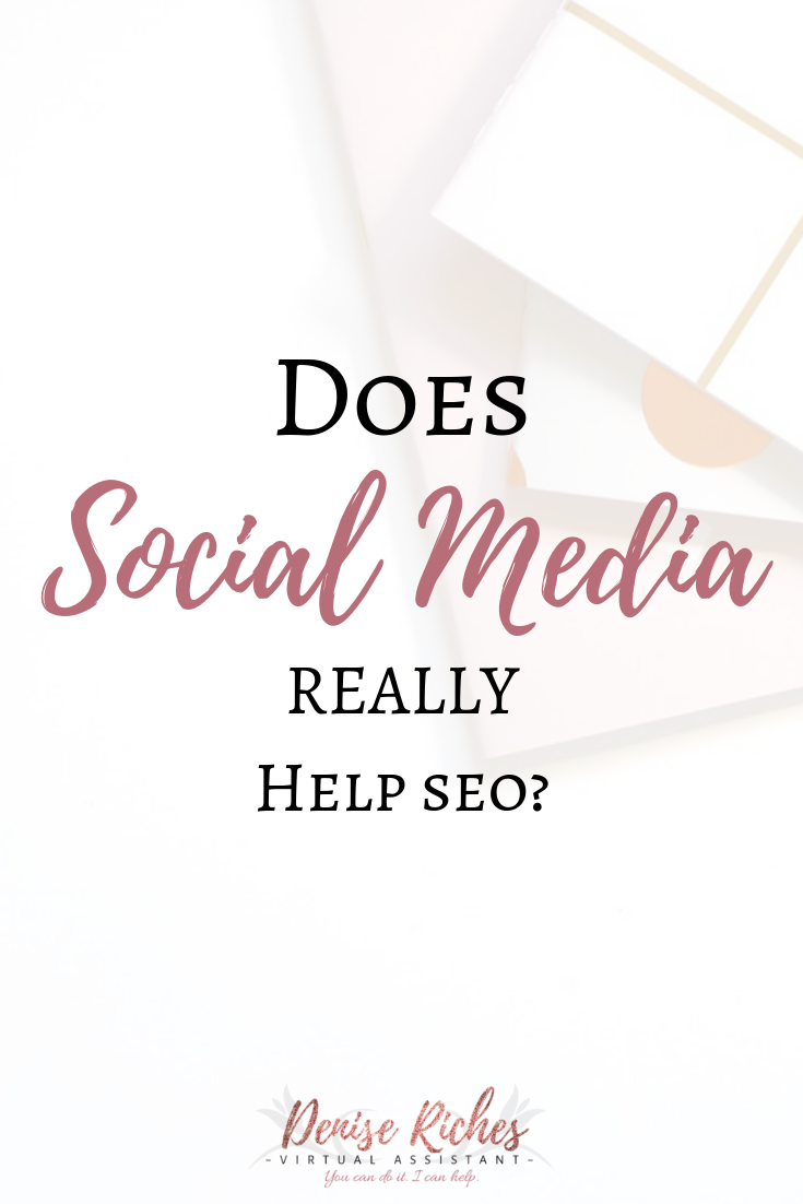 Does social media REALLY help SEO?