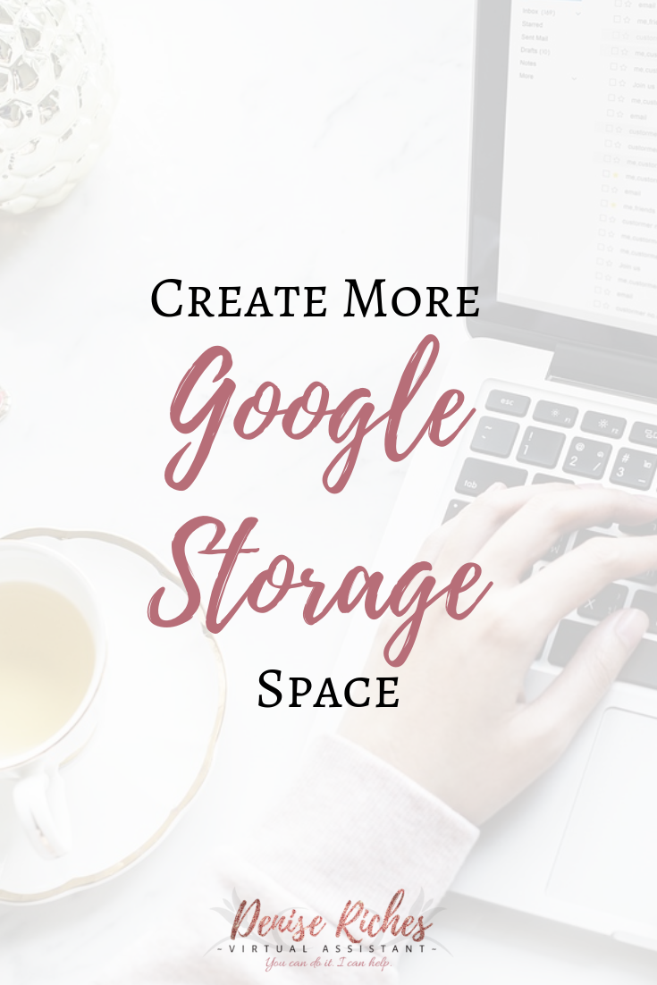 Create More Google Drive Storage Space