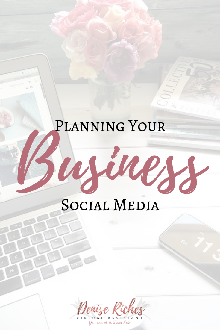 Planning Your Business Social Media
