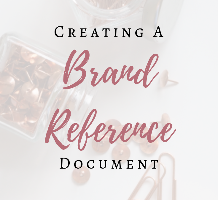 Creating a Brand Reference Document
