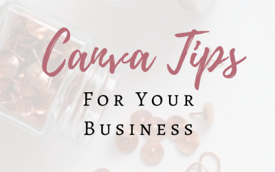 Canva Tips For Your Business